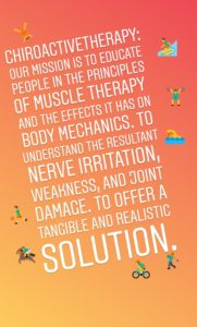 Our Mission Statement for Tustin Neck Pain Patients